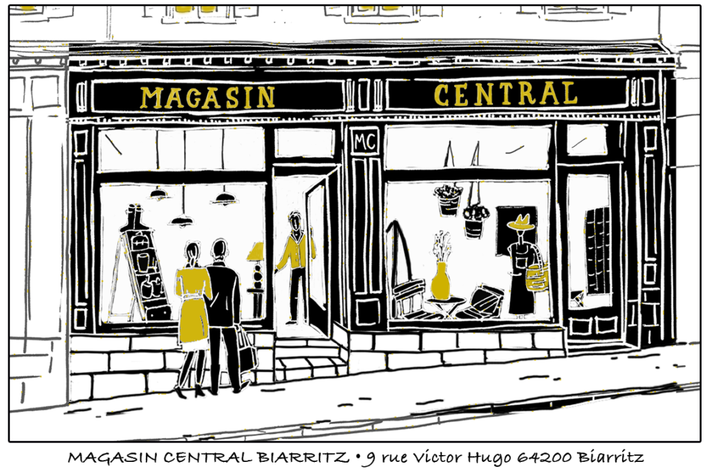 Magasin Central Ile de ré Biarritz